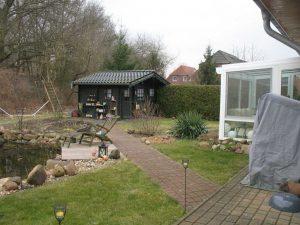 Terrasse vor der Umgestaltung