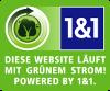 Diese Internetseite läuft mit grünen Strom