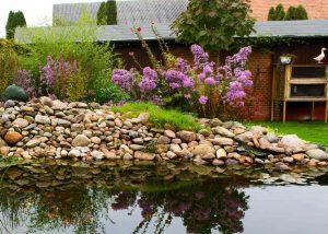Teich und Wasserlauf als neue Mitte